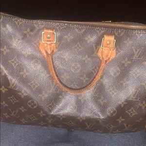 Louis Vuitton Hand Bag Speedy 35 Browns Monogram